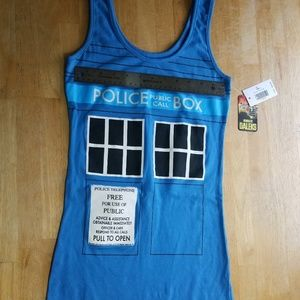 Dr. Who tank top dress